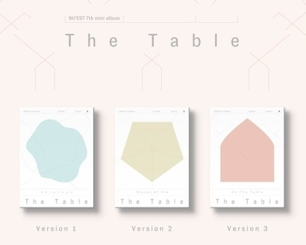 NUEST NU'EST 7th Mini Album - The Table (Random Ver)