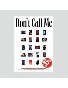 SHINee 7th Album - Don't Call Me (PhotoBook Ver. / REALITY Cover)