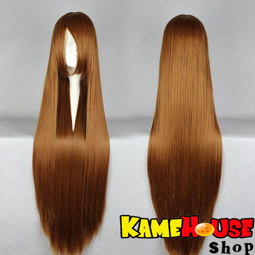 Straight wig 100 cm - Brown