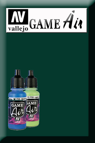 GAME AIR DARK GREEN 72728