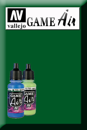 GAME AIR SICK GREEN 72729