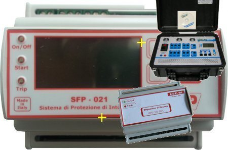 SPI SFP 021 TF con Test Report e Sistema di Backup