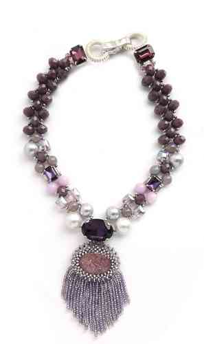 NECKLACE, 2636, VIOLET
