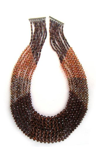 NECKLACE 2307 BROWN