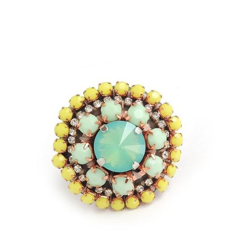 RING 1117 YELLOW+GREEN