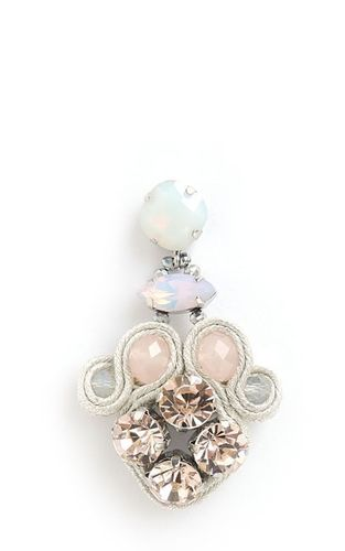 EARRING 1655 CHAMP+PINK