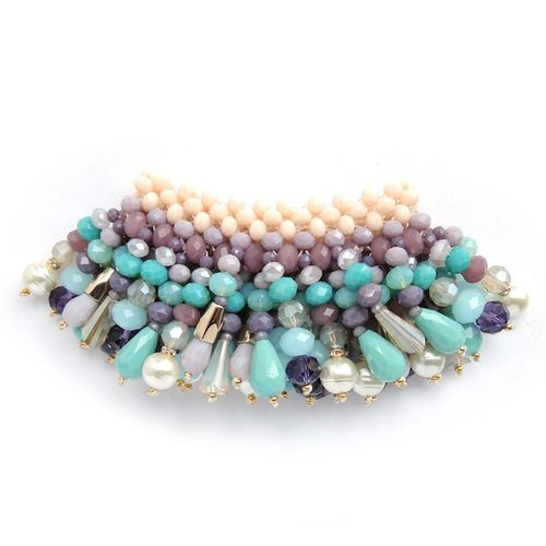 BRACELET 2166 TURQUOISE AND PURPLE