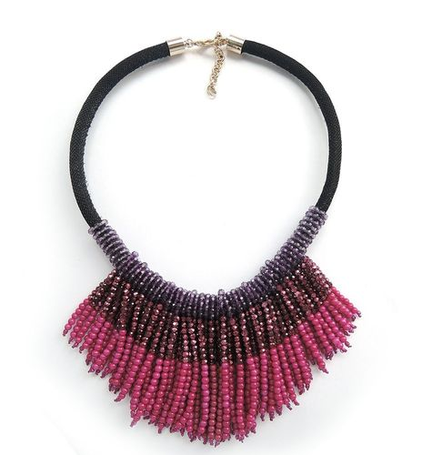 NECKLACE 1455 PURPLE
