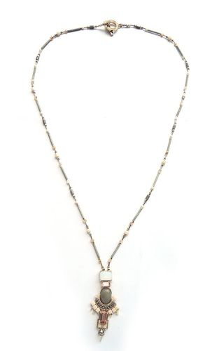 NECKLACE 3085 GREY