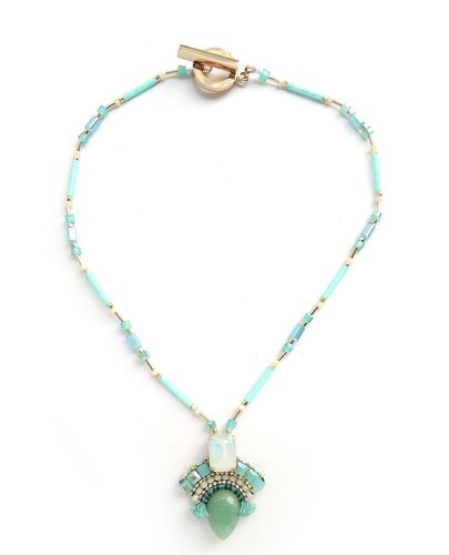 NECKLACE 3087 BLUE