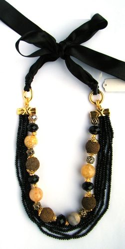 NECKLACE 1421 BLACK