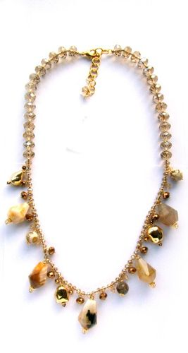NECKLACE 1521 CHAMPAGNE