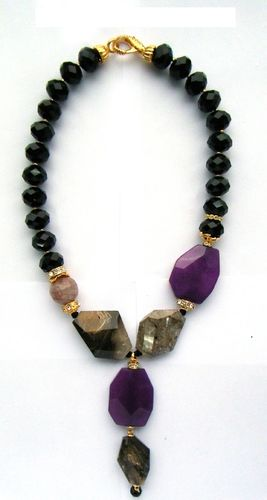 NECKLACE 1572 NERO