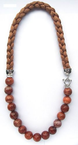 NECKLACE 1568 AGATE -LONG