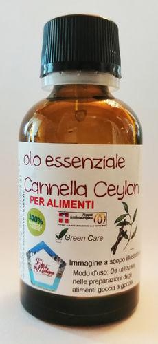 Cannella Ceylon (olio essenziale) contagocce 25 ml