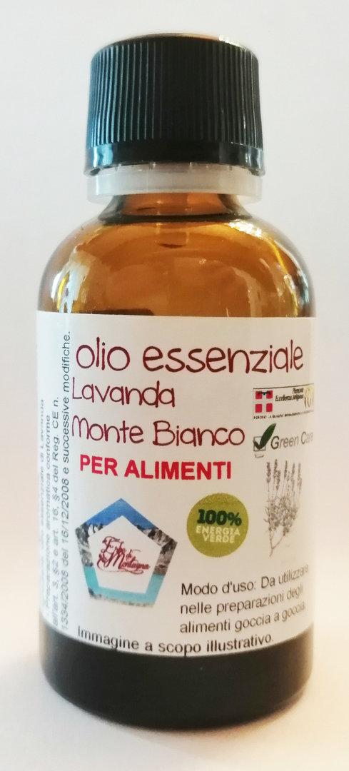 Lavanda Monte Bianco (olio essenziale) contagocce 25 ml