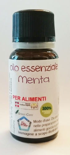 Menta del Piemonte (olio essenziale) contagocce 25 ml
