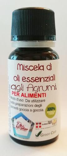 Misto di oli essenziali agli agrumi contagocce 25 ml