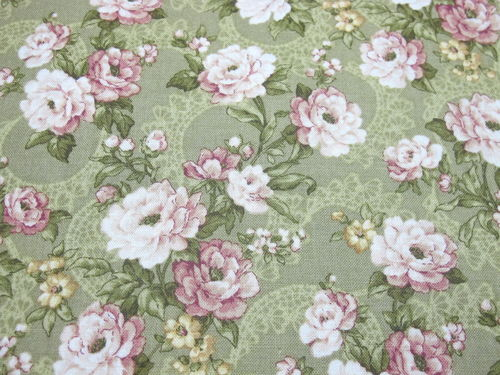 CLOTHWORKS- LILY AND PEONY 862
