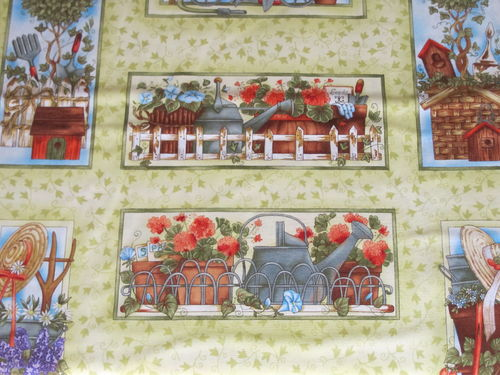 CLOTHWORKS-cottage garden