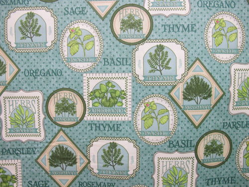 QUILTING TREASURES-herb garden 23425