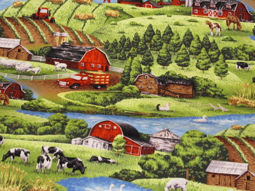 PAINTBRUSH STUDIO - farm living scenic