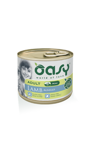 Oasy Adult Agnello Mini