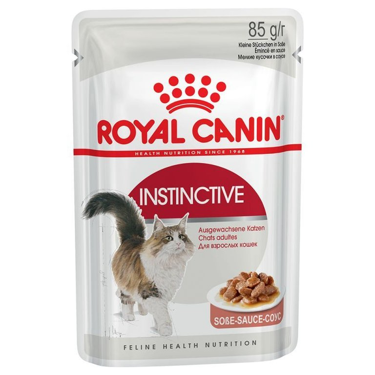 Royal Canin Instinctive In Salsa 12 x 85 gr