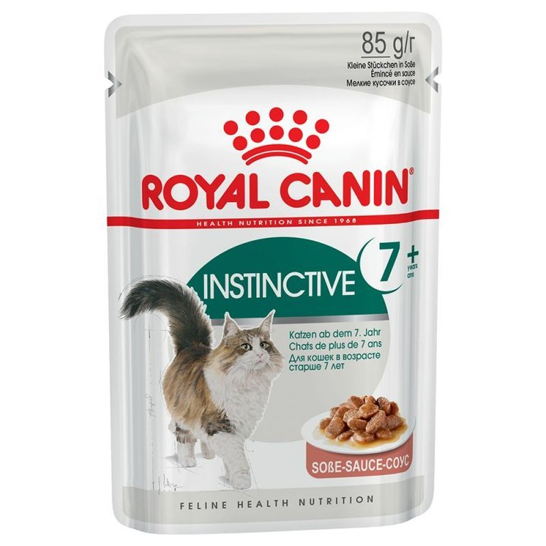 Royal Instinctive 7+ In Salsa 12 x 85 gr