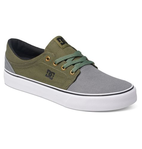 DC Shoes - Trase TX GREY BLACK GREEN
