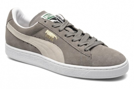 PUMA - Suede Classic+ steeple gray-white