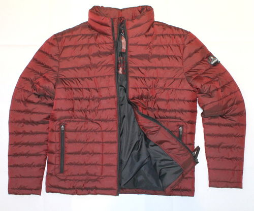 Superdry - piumino tg. L - red