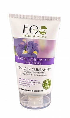 EC-Lab - Facial Washing Gel Deep Cleansing (Gel Detergente per pelle grassa)