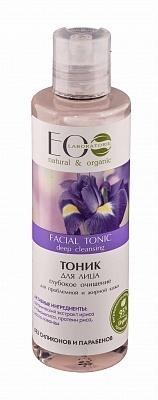 EC-Lab - Facial Tonic deep cleansing for problem-prone and oily skin(tonico pelle viso mista/grassa)