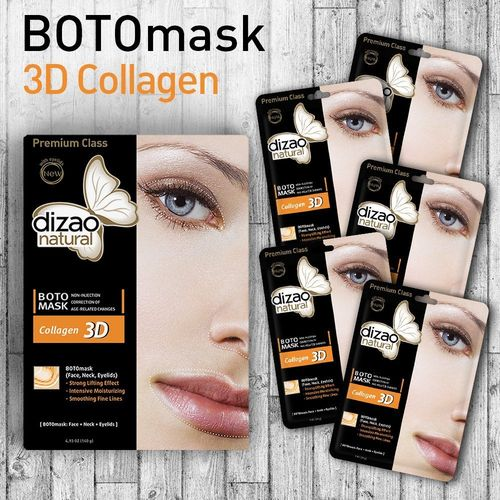 Dizao Organics - Boto Mask 3D Collagen (1 Maschera Collagene)