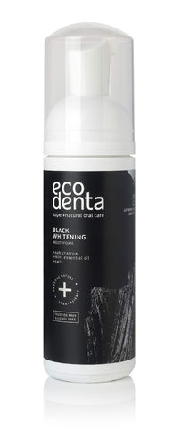 Ecodenta - Black Whitening Mouthfoam (Colluttorio Nero Mousse Sbiancante)