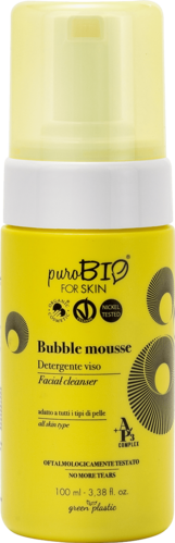 PuroBio for Skin - Bubble Mousse Detergente Viso