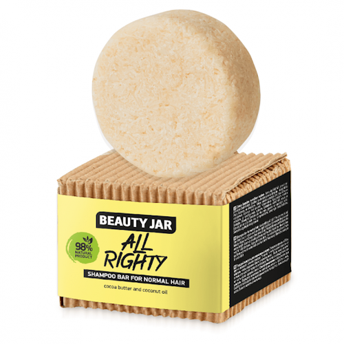 Beauty Jar - Shampoo Solido Capelli Normali All Righty