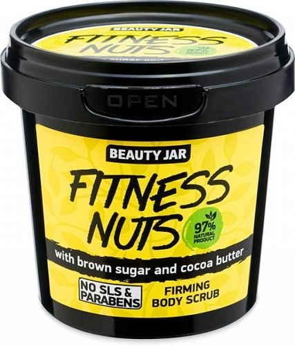 Beauty Jar - Scrub Corpo Fitness Nuts