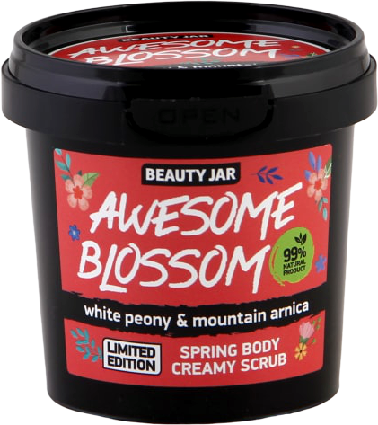 Beauty Jar - Scrub Cremoso Corpo Awesome Blossom