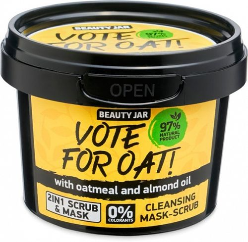 Beauty Jar - Maschera Scrub Vote For Oat!