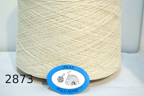 100%seta  Natural 2873 Nm 2/18 900 m100 grammi