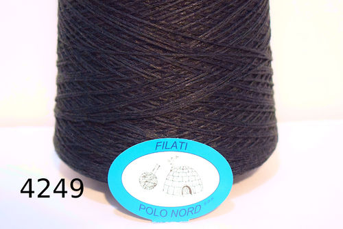 52%cotone, 25%viscosa, 23%lino Peaceful blue 4249 100 grammi