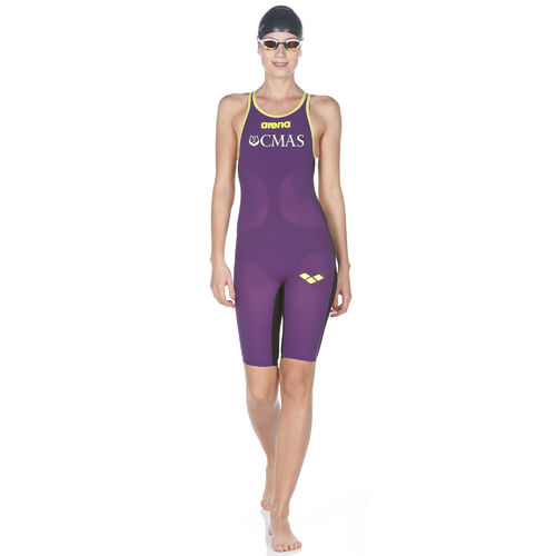Powerskin Carbon-Air Full Body Short Leg Open Back