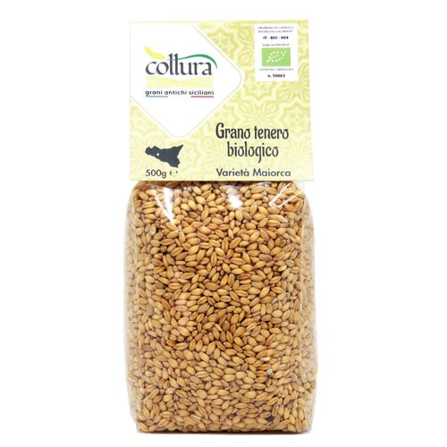 Organic Soft Wheat Maiorca 500 g