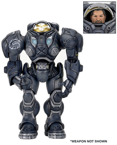 NECA Heroes Of The Storm Raynor Starcraft Action Figure