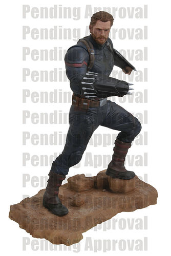 Marvel Gallery Avengers 3 Captain America Figure Diamond Select Statua