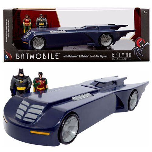 Nj Croce Batmobile Batman The Animated Series Bendable Figure