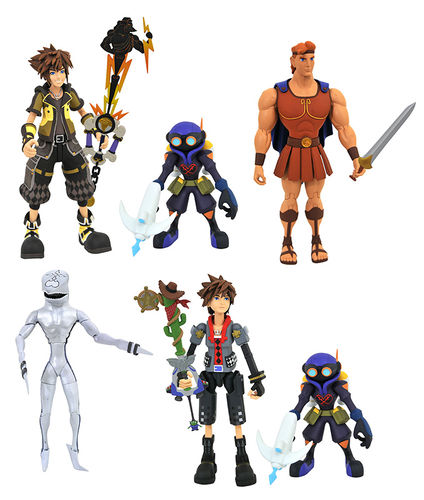 PREORDINE - Kingdom Hearts 3 Sora Toy Story Hercules Diamond Select Action Figure