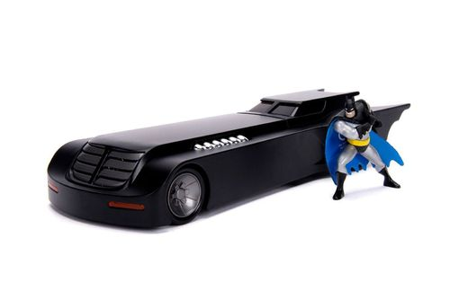 Jada Toys Batmobile Batman The Animated Series Diecast Figure Set